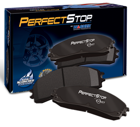Perfect stop ceramic brake pads